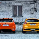 Ford Focus ST comparison Backs 01
