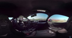 Take a Ride in Mustang V8 on the Track at Silverstone!
