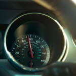 Ford Mustang 50th Edition Speedometer