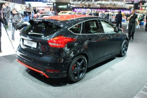 Red and Black Ford Focus mk3