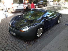Ford Ka styling on the Bugatti Veyron