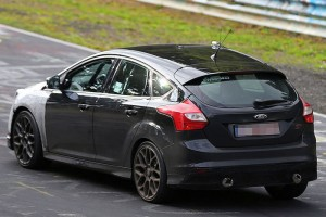2015 ford focus rs prototype rear