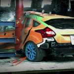 Ford Focus RS 2016 Testy zderzeniowe