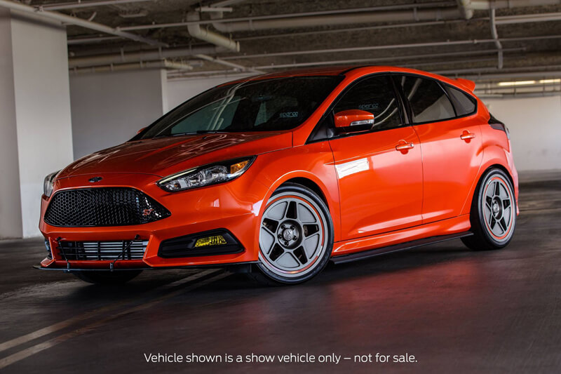ford sema 2015 red focus st - 2014 Ford Focus St Red