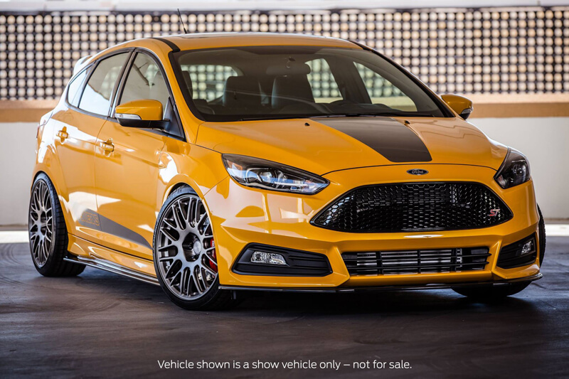 tuning ford sema show 2015 in las vegas ford focus st. Black Bedroom Furniture Sets. Home Design Ideas