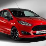 Ford Fiesta czerwony 140KM