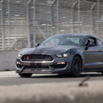 2016 Ford Mustang Shelby GT350R on track