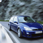 Ford Focus RS 2002 on the road