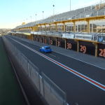 Ford Focus RS 2016 on the track
