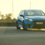 Ford Focus RS Tryb Drift