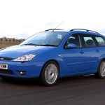 Ford Focus ST170 capri blue color