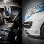 Ford Transit M Sport Detale