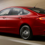 Ford Fusion Mondeo mk5 facelift Back