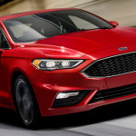 Ford Fusion Sport Mondeo 2017 Front
