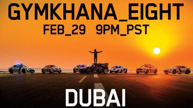 Gymkhana 8 Ken Block Fiesta ST RX43 Dubai
