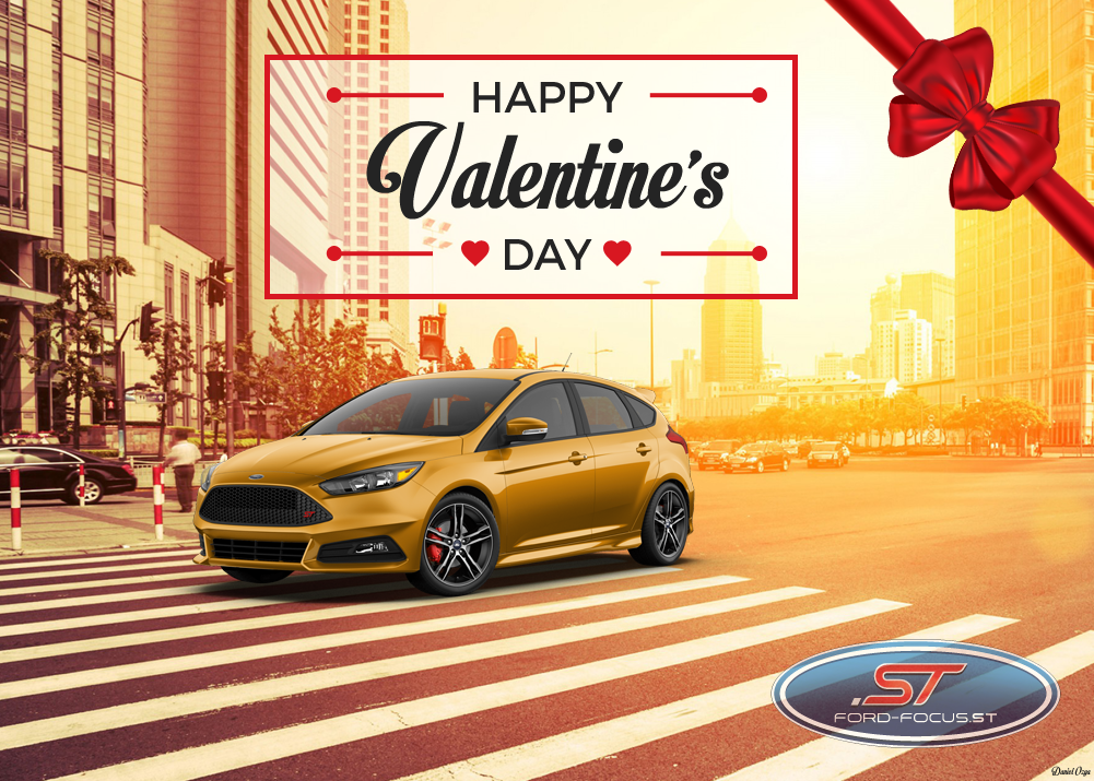 Happy Valentine's Day Ford Focus ST Club