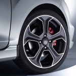 Ford Fiesta ST200 alloy wheels