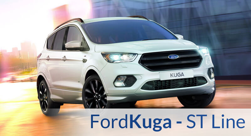 new ford kuga st line package now available. Black Bedroom Furniture Sets. Home Design Ideas