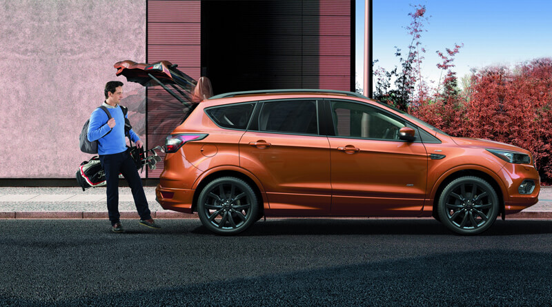 Sporty Ford Kuga in packege ST Line