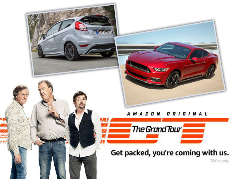 Focus RS, Mustang GT & Fiesta ST on The Grand Tour already on 18 November!