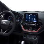 Interior of Ford Fiesta 2017