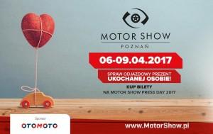 idealny prezent na walentynki bilety na Poznań motor show