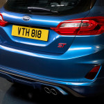 ford fiesta st 2018 details rear