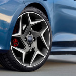 ford fiesta st 2018 details rims alloy wheels