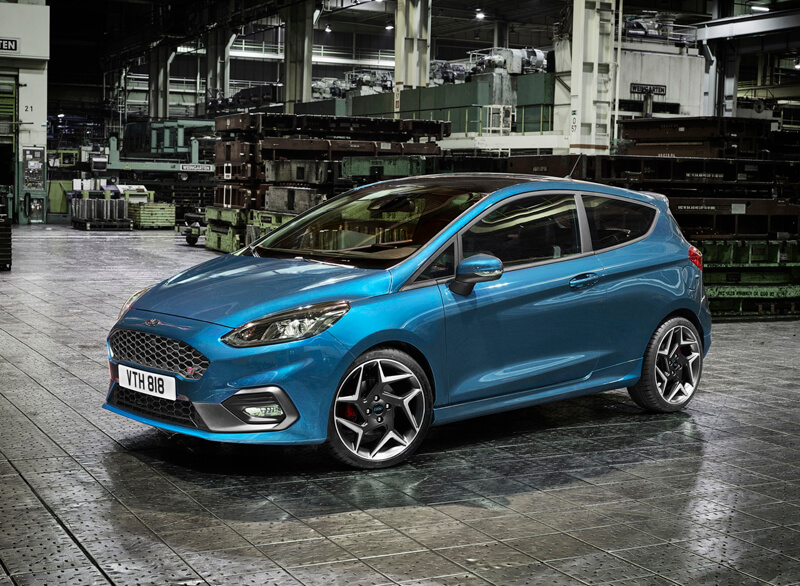 Ford Fiesta ST 2018 at the Geneva Motor Show  Specs