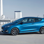 new ford fiesta st side 2017