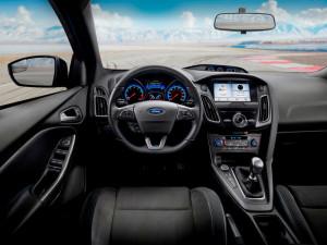 Edycja limitowana 2018 Ford Focus RS Wnętrze