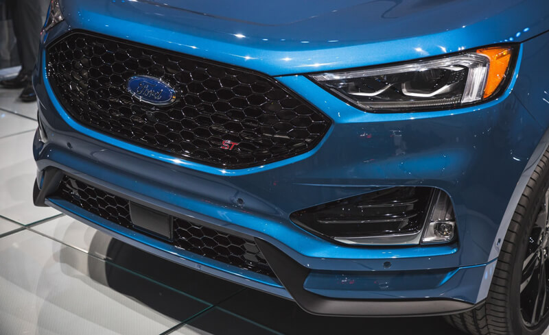 Detroit  Ford Edge St Front Grill