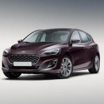 42 Ford Focus Vignale mk4 2018 Side