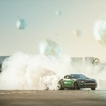 Castrol virtual drift Mustang in action
