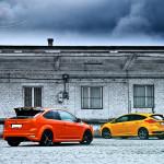 Ford Focus ST Porównanie Tyły 02