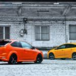 Ford Focus ST porównanie Tyły 03