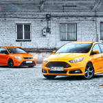 Ford Focus ST porównanie Przody 01