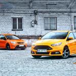 Ford Focus ST comparison Fronts 01