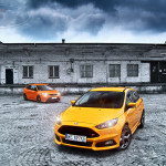 Ford Focus ST porównanie Przody 02