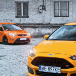 Ford Focus ST porównanie Przody 03