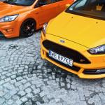 Ford Focus ST porównanie Przody 05