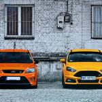 Ford Focus ST porównanie Przody 06