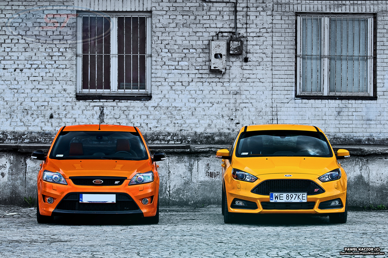Two Different Fords One St Badge Ford Focus St