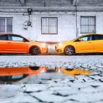 Ford Focus ST porównanie Boki 01