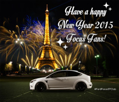 New Year 2015 with Ford-Focus.ST!