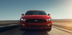 New Ford Mustang in Europa