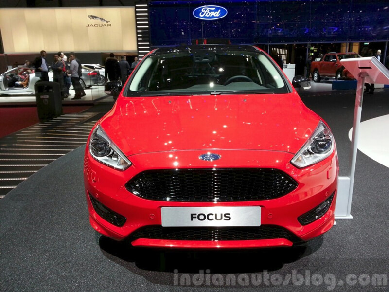 Limited Edition Of Red Amp Black Focus Strengthens Ford