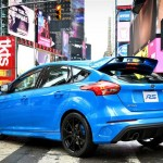 Tył Ford Focus RS 2016