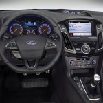 Interior of Ford Focus RS 2016