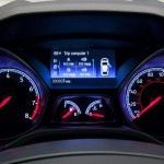 Interior speedometer of Ford Focus RS 2016